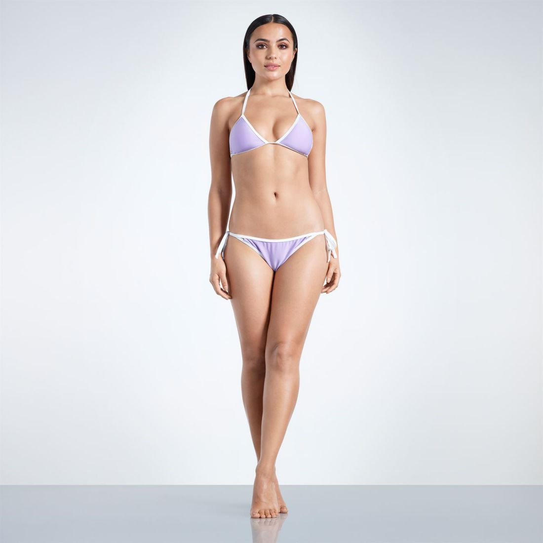 083334a5f5 Image is loading Golddigga-Triangle-Bikini-Bottoms-Ladies -Briefs-Stretch-Tie-