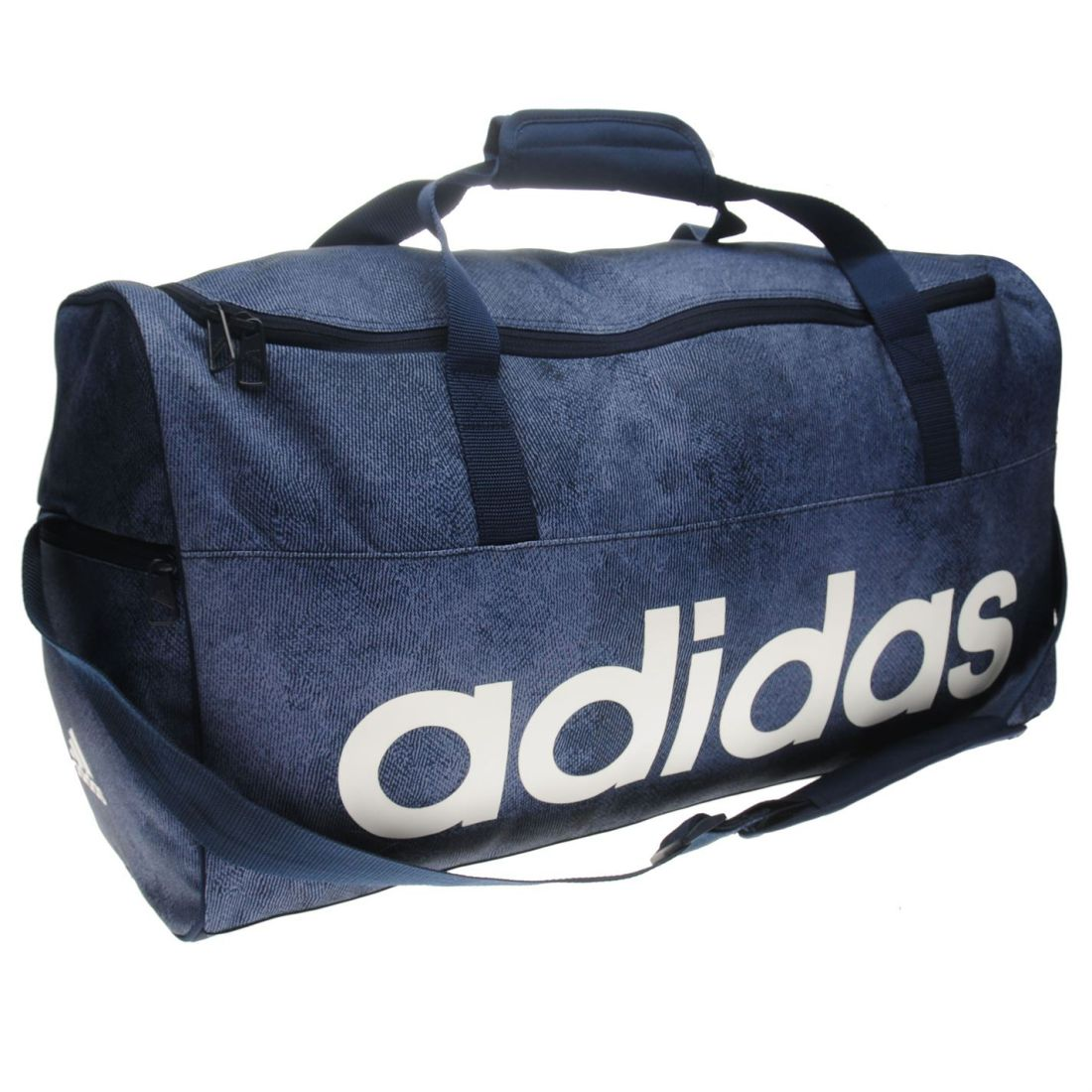 6a58c863e6 adidas Linear Graphic Team Bag Case Sack Holdall Medium Unisex Zip Stamp All
