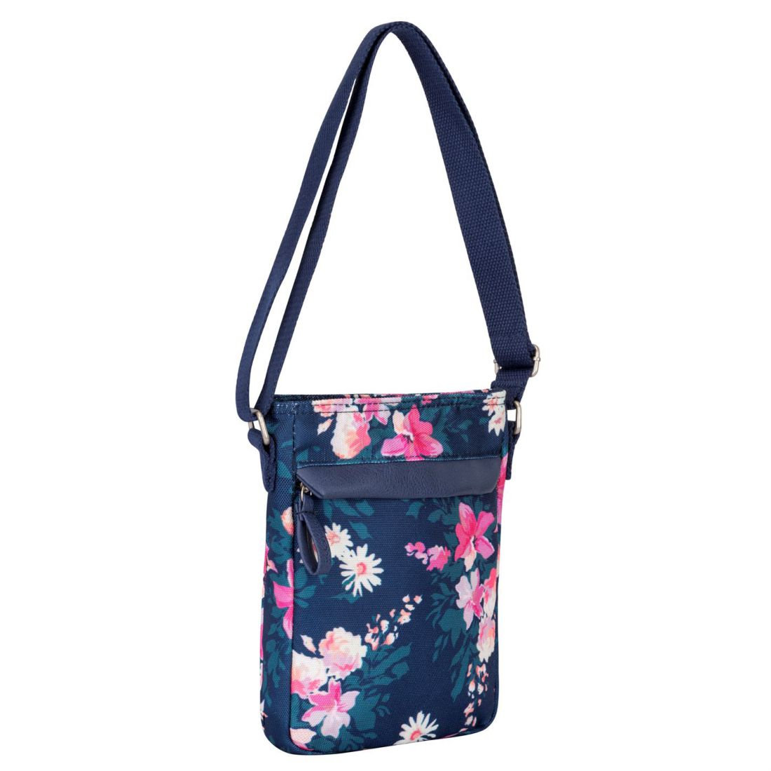7cd6baf869a0 Details about Miso Canvas Side Bag Case Sack Holdall Ladies Shoulder Zip  Stamp