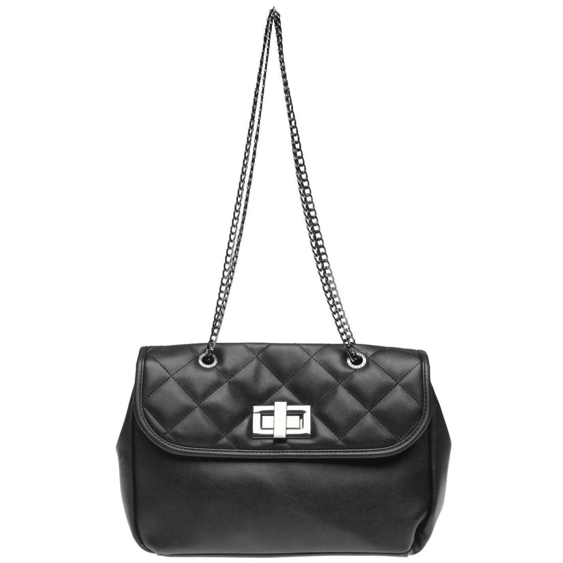 079e22e503d6 Details about Firetrap Handbag Ladies Hand Bag Case Sack Holdall Zip Quilted