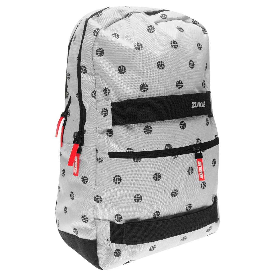 0a414a9feaa5 Details about Zukie Mens Skate Pattern Backpack Back Pack Zip Mesh Print  All Over Sport