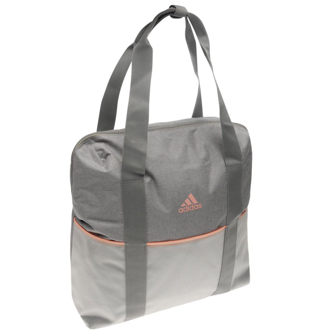 5e615e2fb7 adidas ID Tote Bag Case Sack Holdall Ladies Back Zip Mesh ...