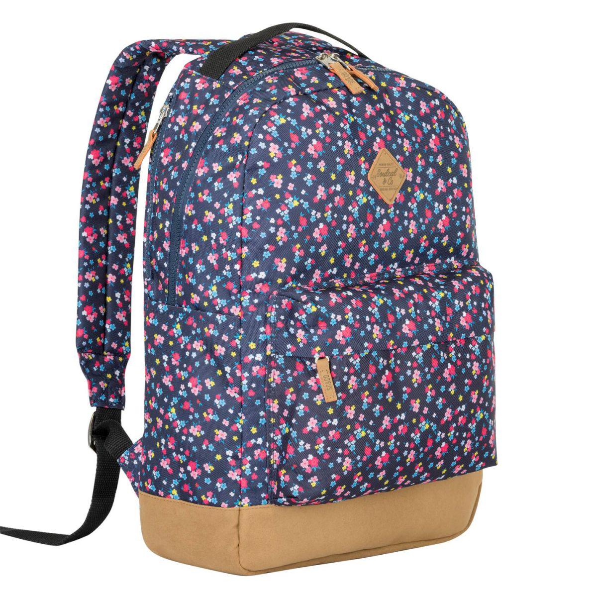 efa55bae0b Unisex SoulCal Carmel Backpack Back Pack Zip New 5057960310903