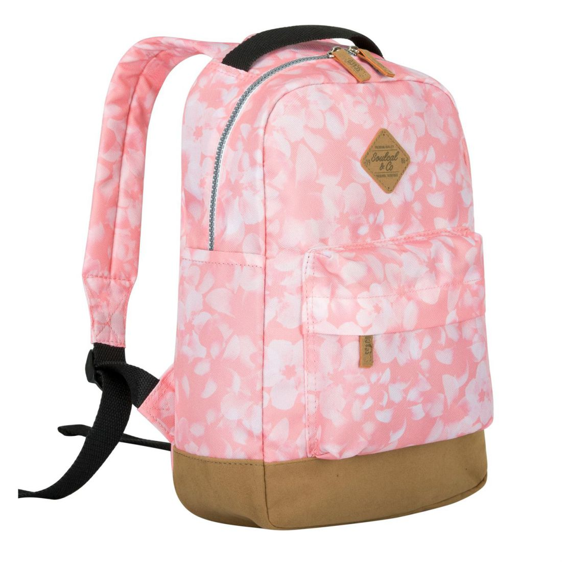 2b5cfd4296 Details about SoulCal Unisex Carmel Mini Backpack Back Pack Zip Print All  Over Classic