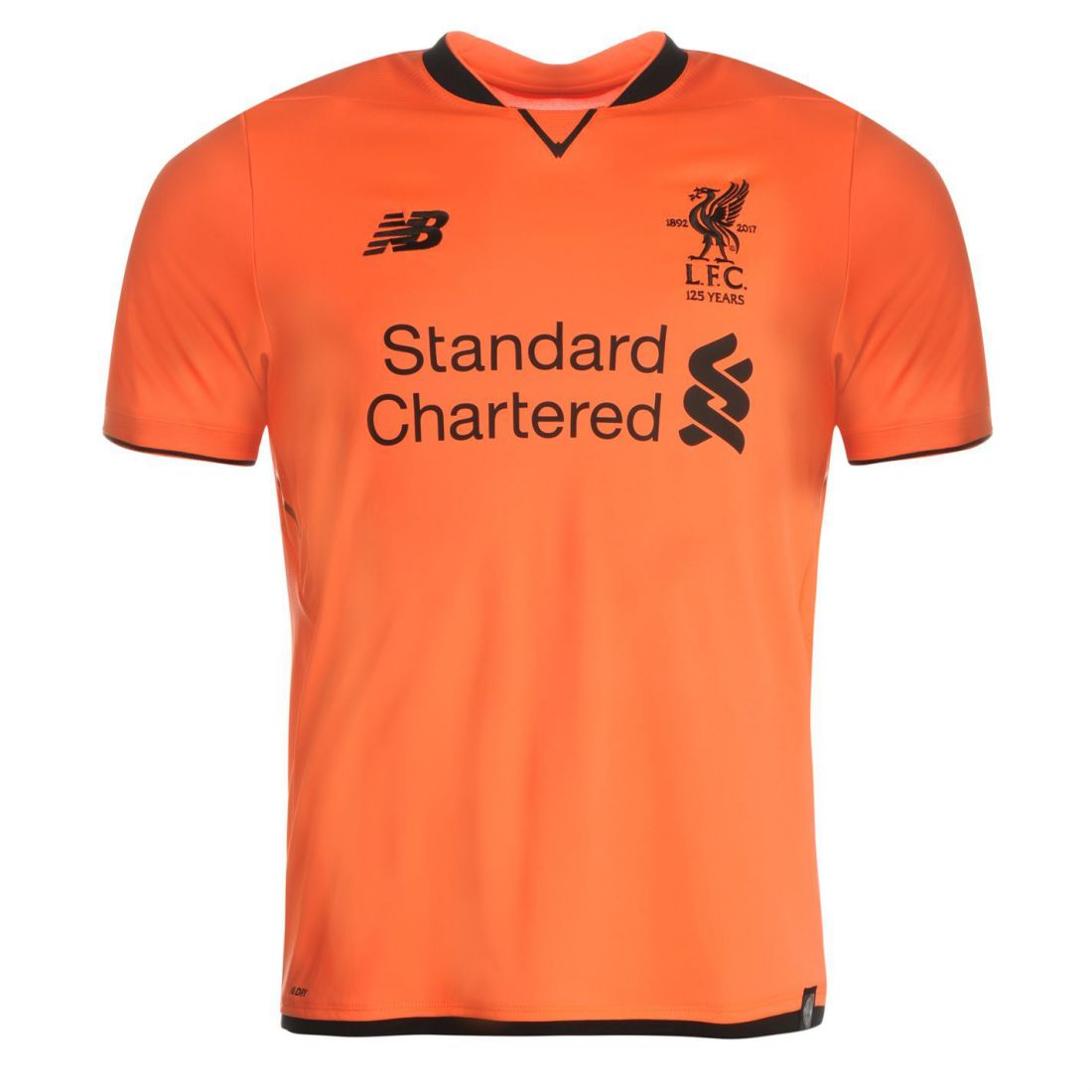 809463bd2 Details about New Balance Mens Gents Liverpool Third Shirt 2017 2018 Top  Clothing