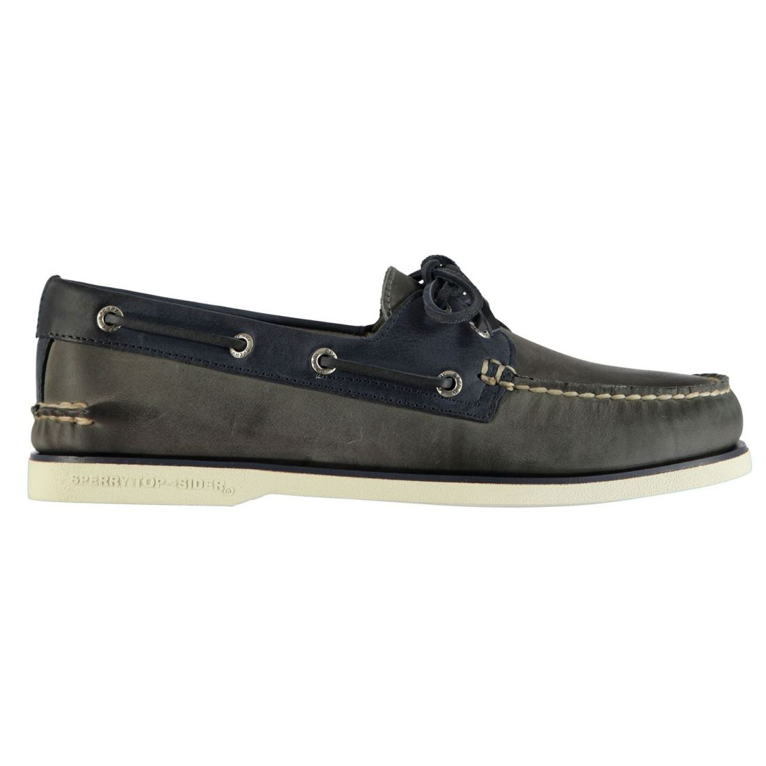 SPERRY Mens Roustabout 2 Eye shoes Casual Lace Up Contrast Panelling