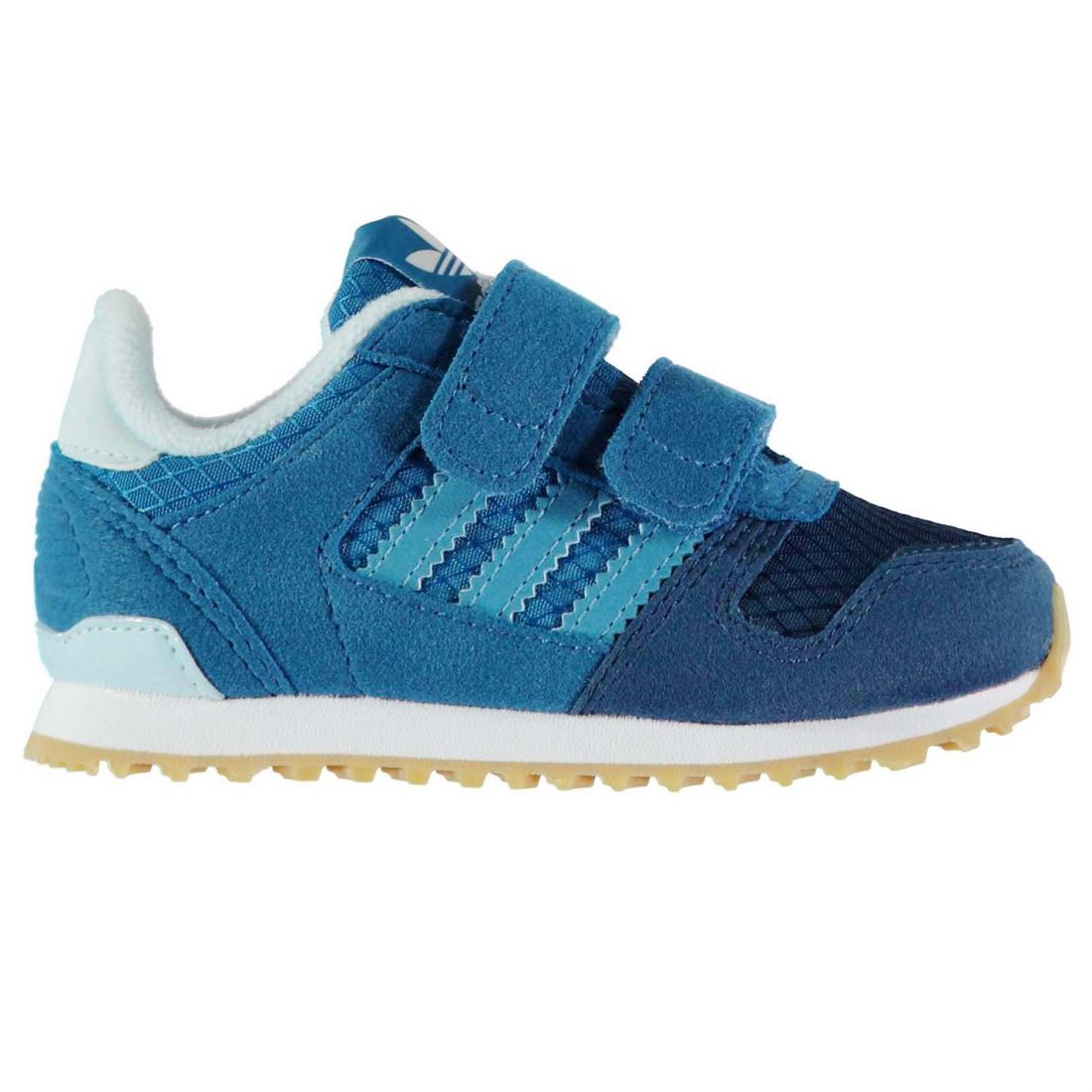b2533ee008e94 adidas Boys ZX 700 CF Trainers Shoes Baby Ortholite Mesh Breathable Stripe