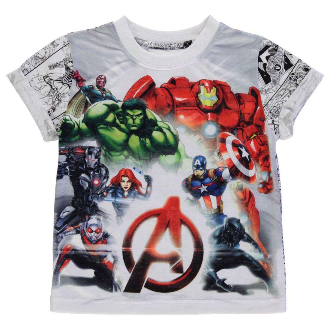 Aimable Personnage Enfant Crew T-shirt Tee Top Vêtements-afficher Le Titre D'origine