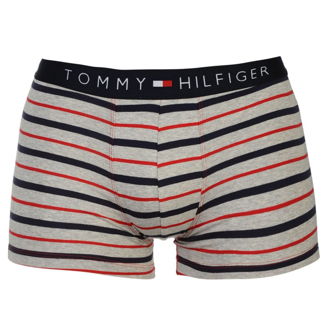 bce2059909 Tommy Hilfiger Mens Stripe Trunk Briefs Boxer Underwear Clothing Accessory