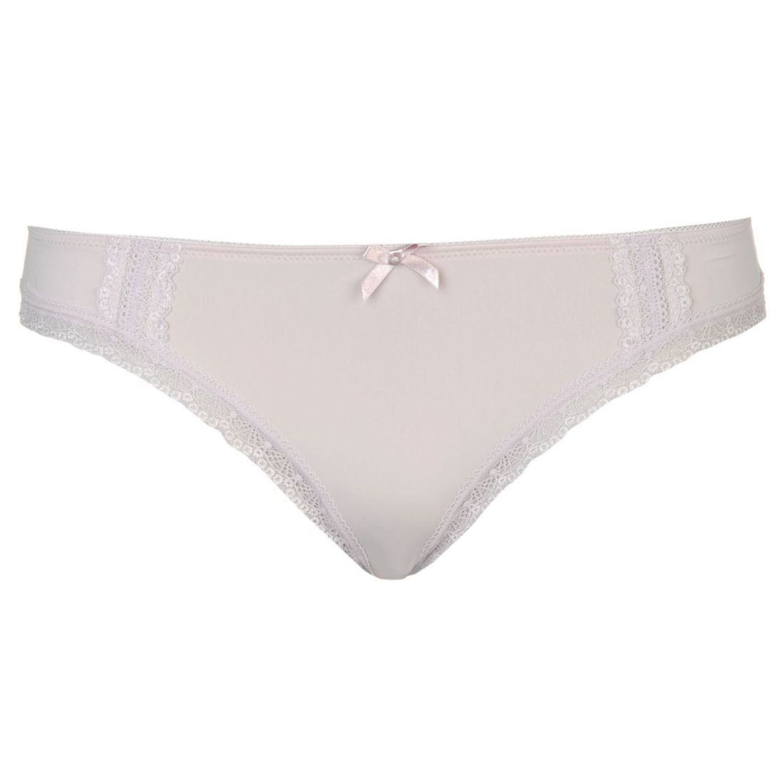 Miso Womens Micro Lace Briefs Bow Detail Stretchy Underwear Accessories 5051bf3cf
