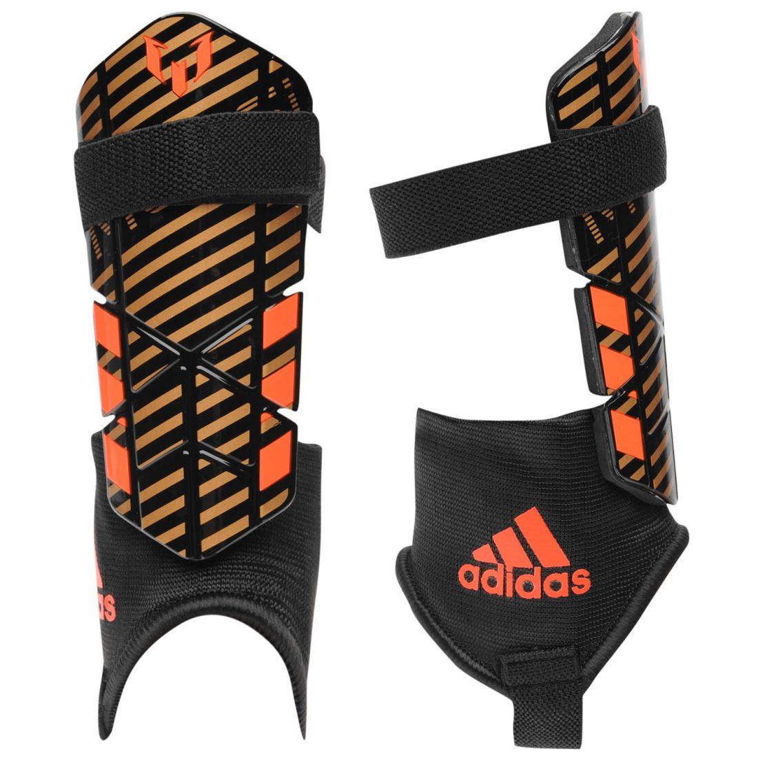 adidas Kids Messi 10 Youth Shin Guard Ankle Pad Hard Shell  1acc8ed8236f