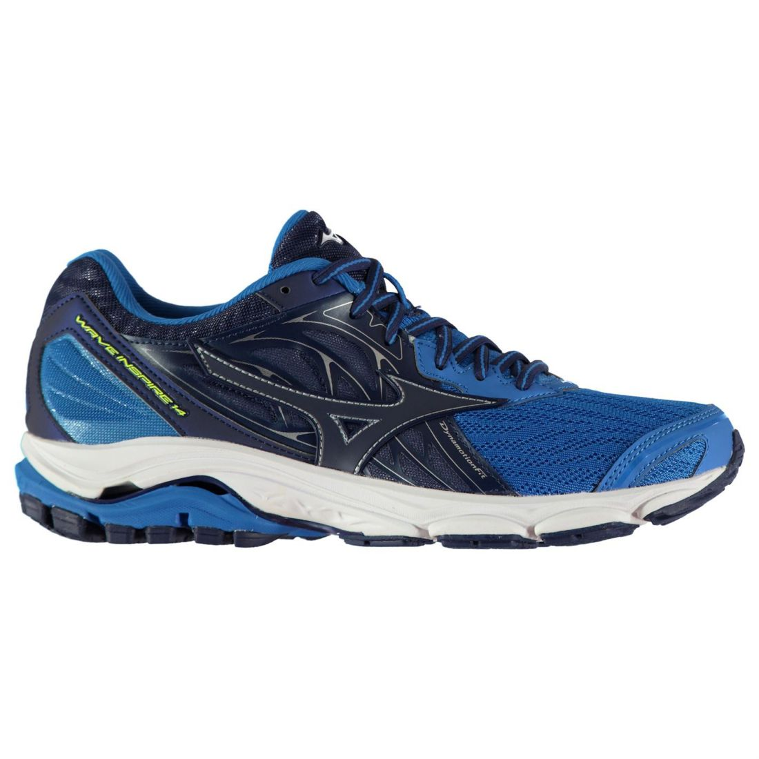 Mizuno Mens Wave Inspire 14 shoes Road Running Lace Up Breathable Padded Ankle