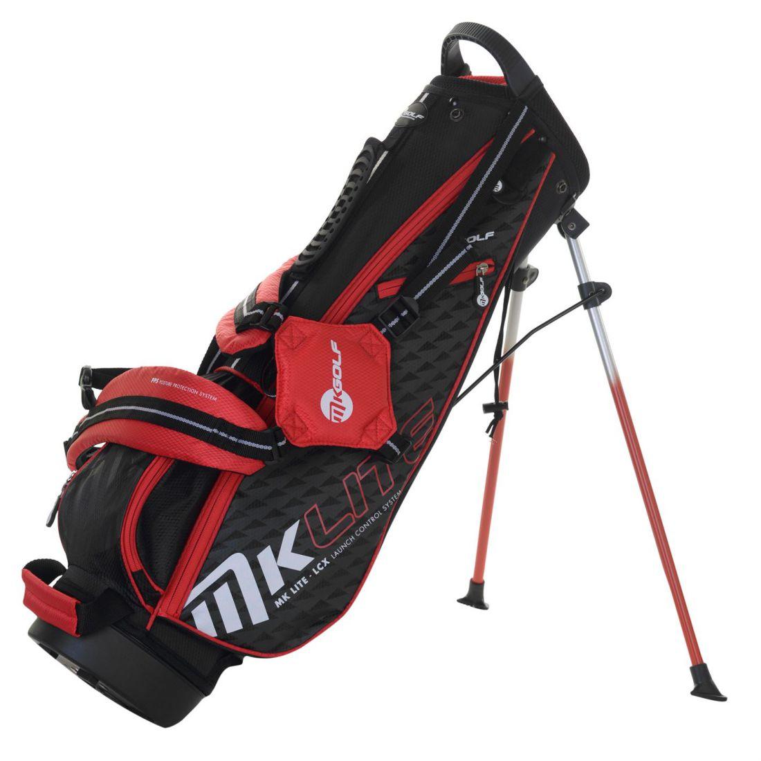 Details About Masters Kids Stand Golf Bag Junior Lightweight Hooded Zip