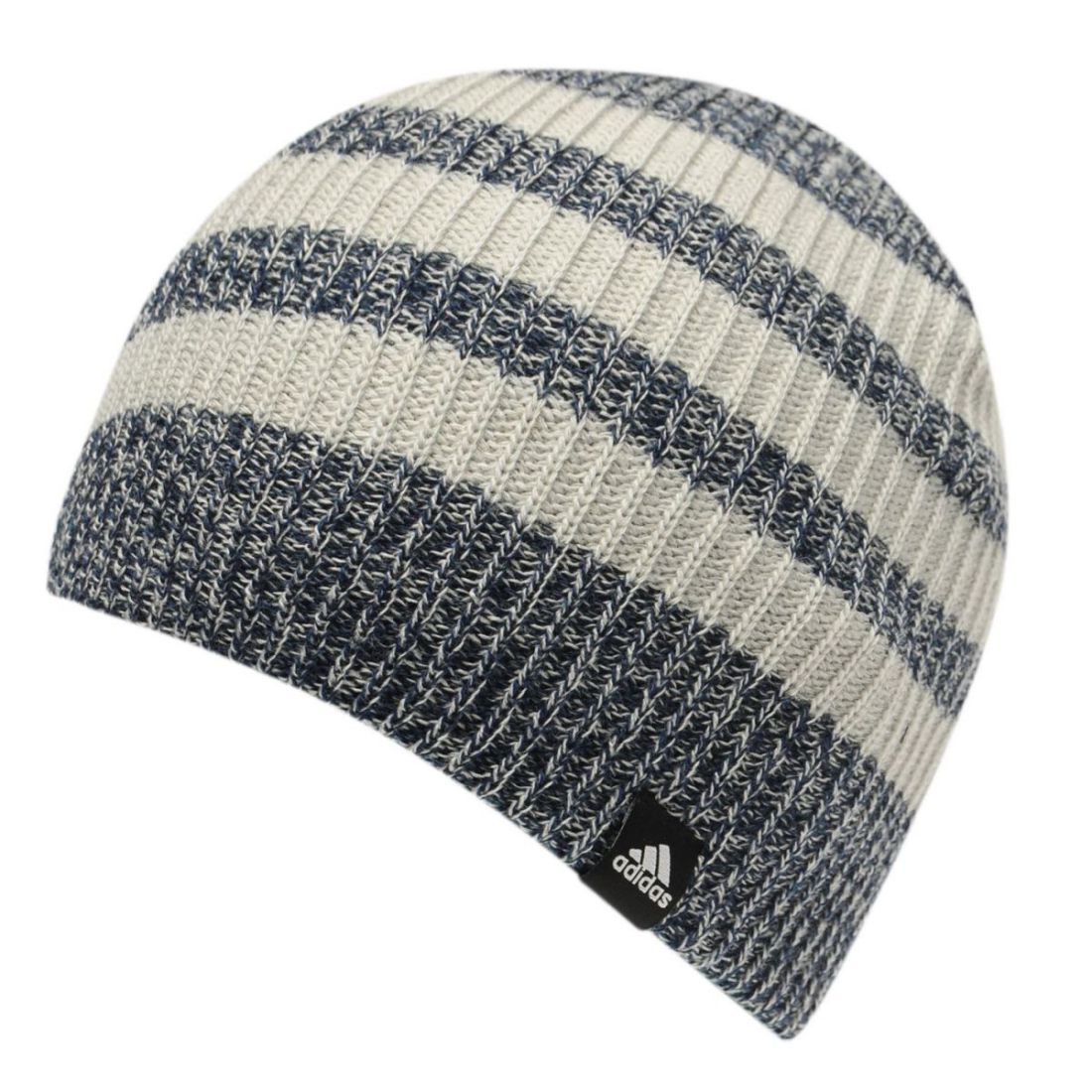 cab74312 Details about adidas Kids Boys 3 Stripe Beanie Hat Junior