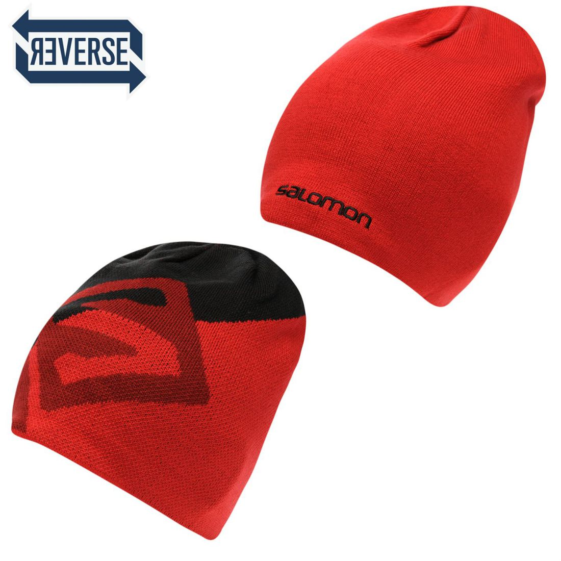 Details about Salomon Mens Gents Reversible Hat Sport Activities Winter  Snow Headwear 75b4855a9a0
