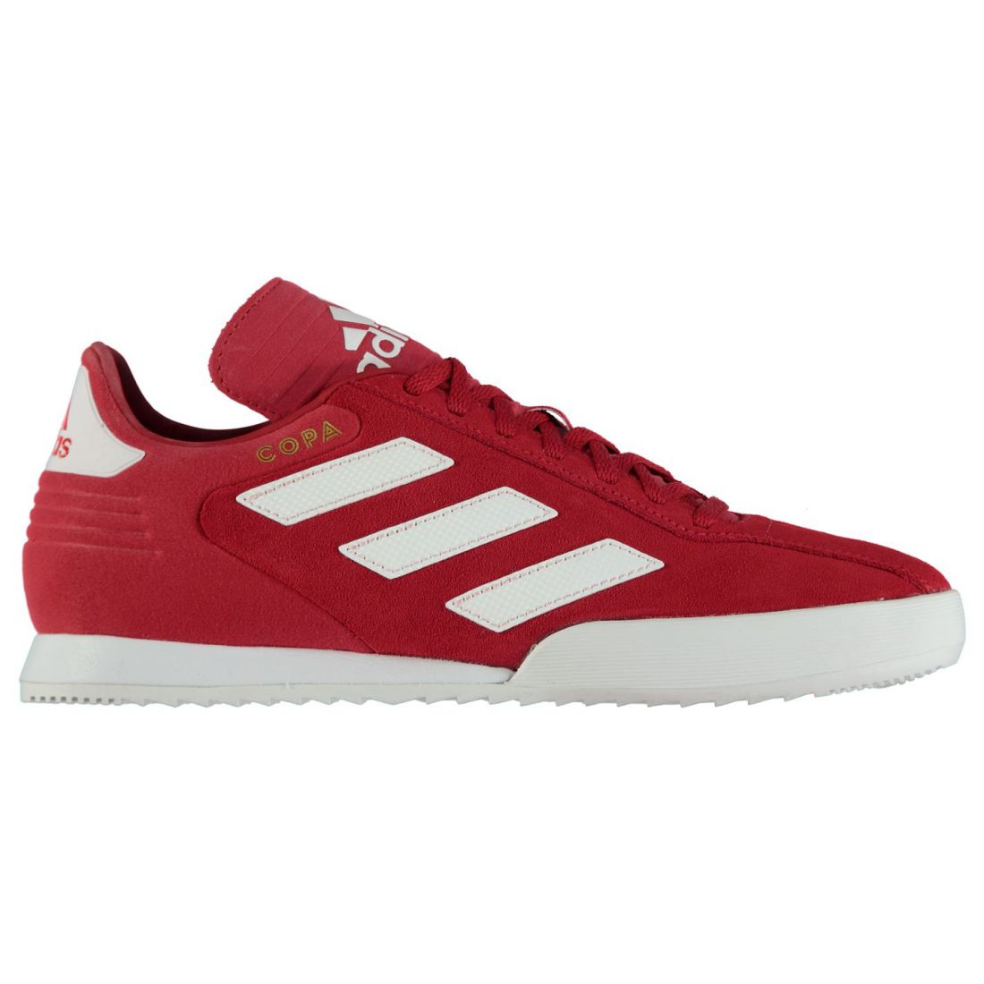 brand new d8b1d 34d67 adidas Copa Super Suede Sneakers Mens Gents Laces Fastened Padded Ankle  Collar