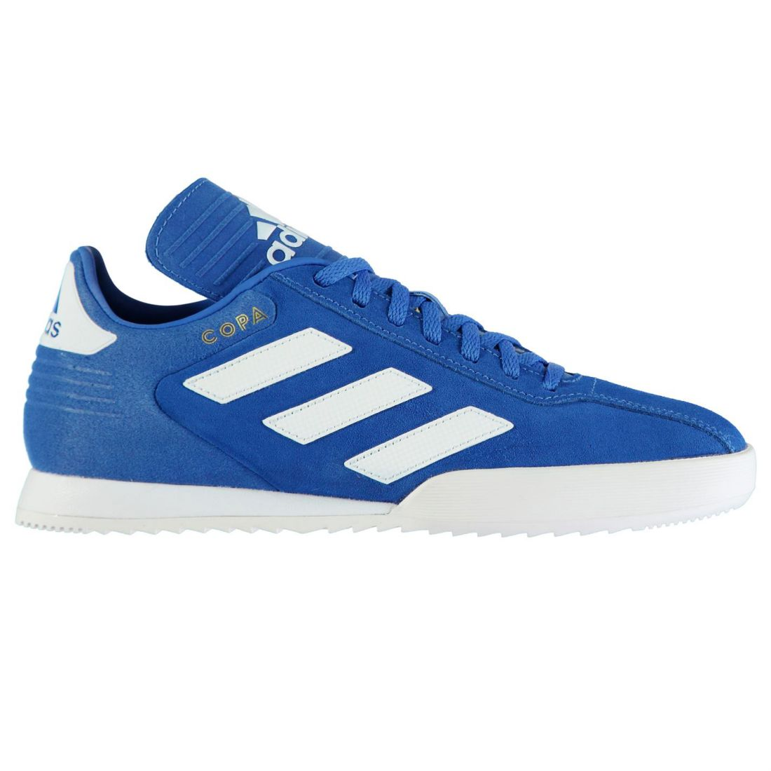 outlet store b4962 baa7c adidas Mens Copa Super Suede Trainers Lace Up Padded Ankle Collar Textured