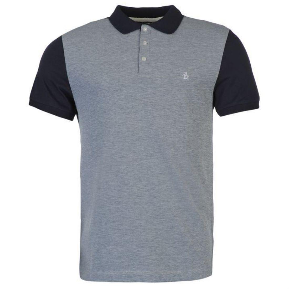 0cadc5208044 Penguin Mens Dimmer Polo Shirt Lightweight Casual Short Sleeve ...