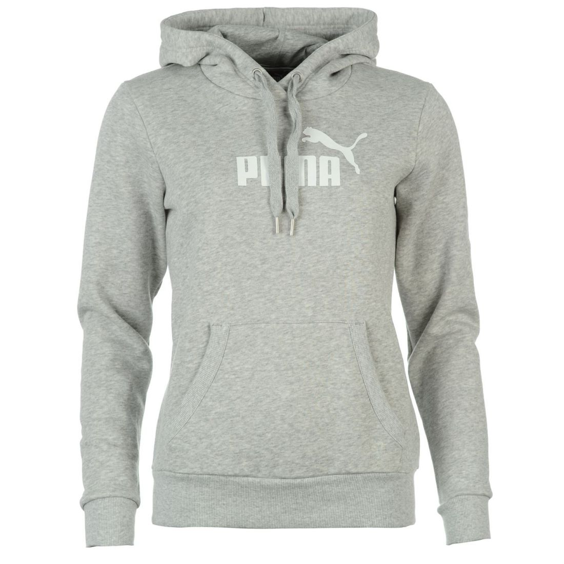 263fb12ca Puma Womens Ladies No1 Logo Hoody Hoodie Hooded Long Sleeve Top ...