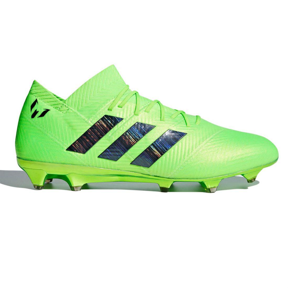 best website 70acc fa523 Image is loading adidas-Nemeziz-Messi-18-1-FG-Football-Boots-
