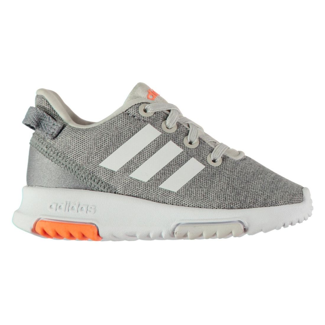 54c7b9ad6 adidas Kids Racer Infants Trainers Runners Elasticated Laces Lightweight  Stripe