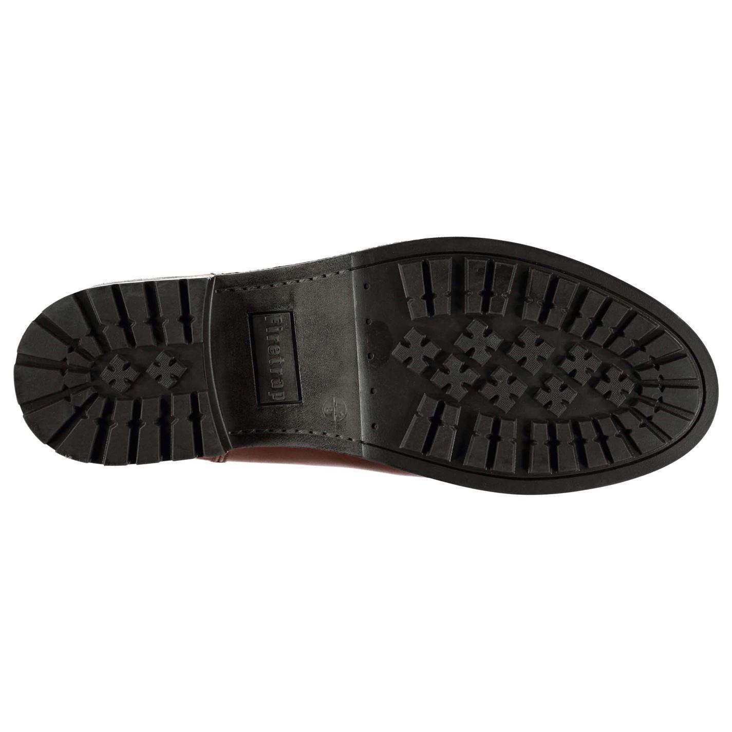 Firetrap Boots Tan Zapatos Calzado Hex Mens Gents Chelsea UwrAUq