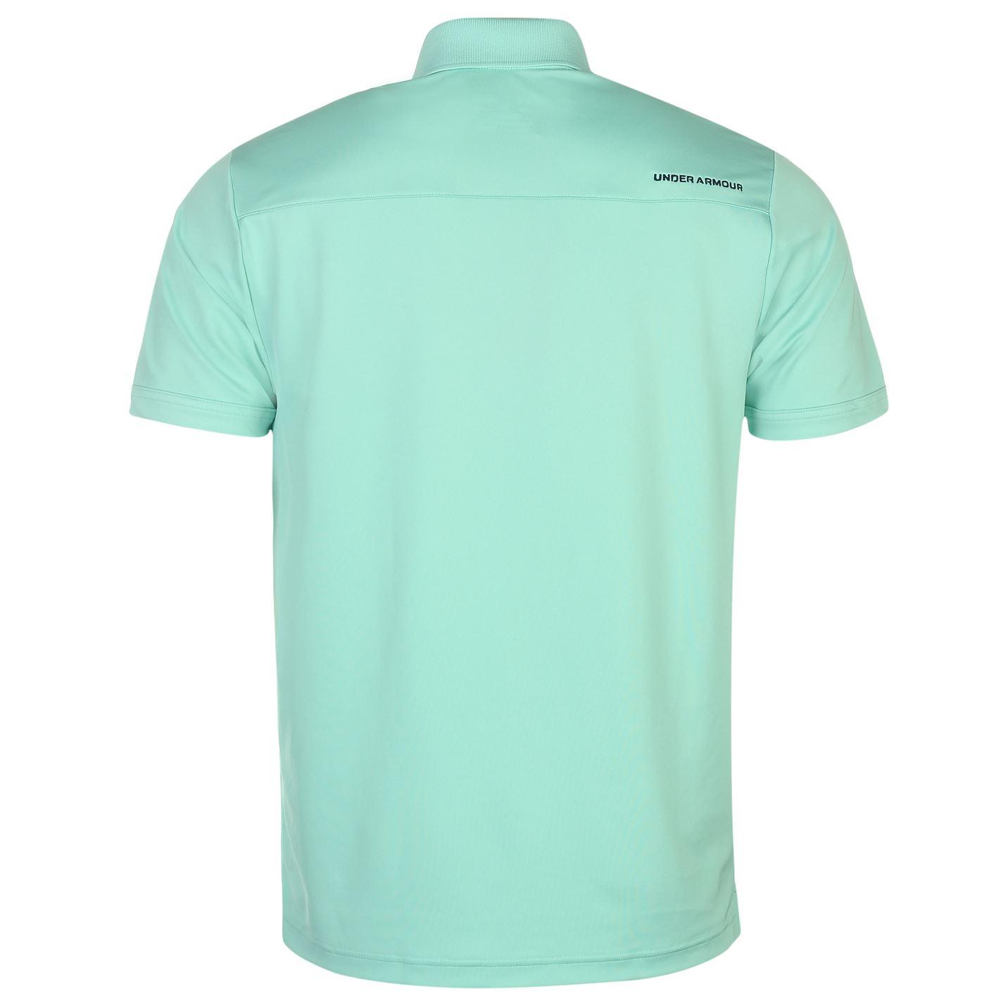 Under-Armour-Camiseta-Polo-para-hombre-realizar-Manga-Corta-Camiseta-Top-Golf-Deportes miniatura 22