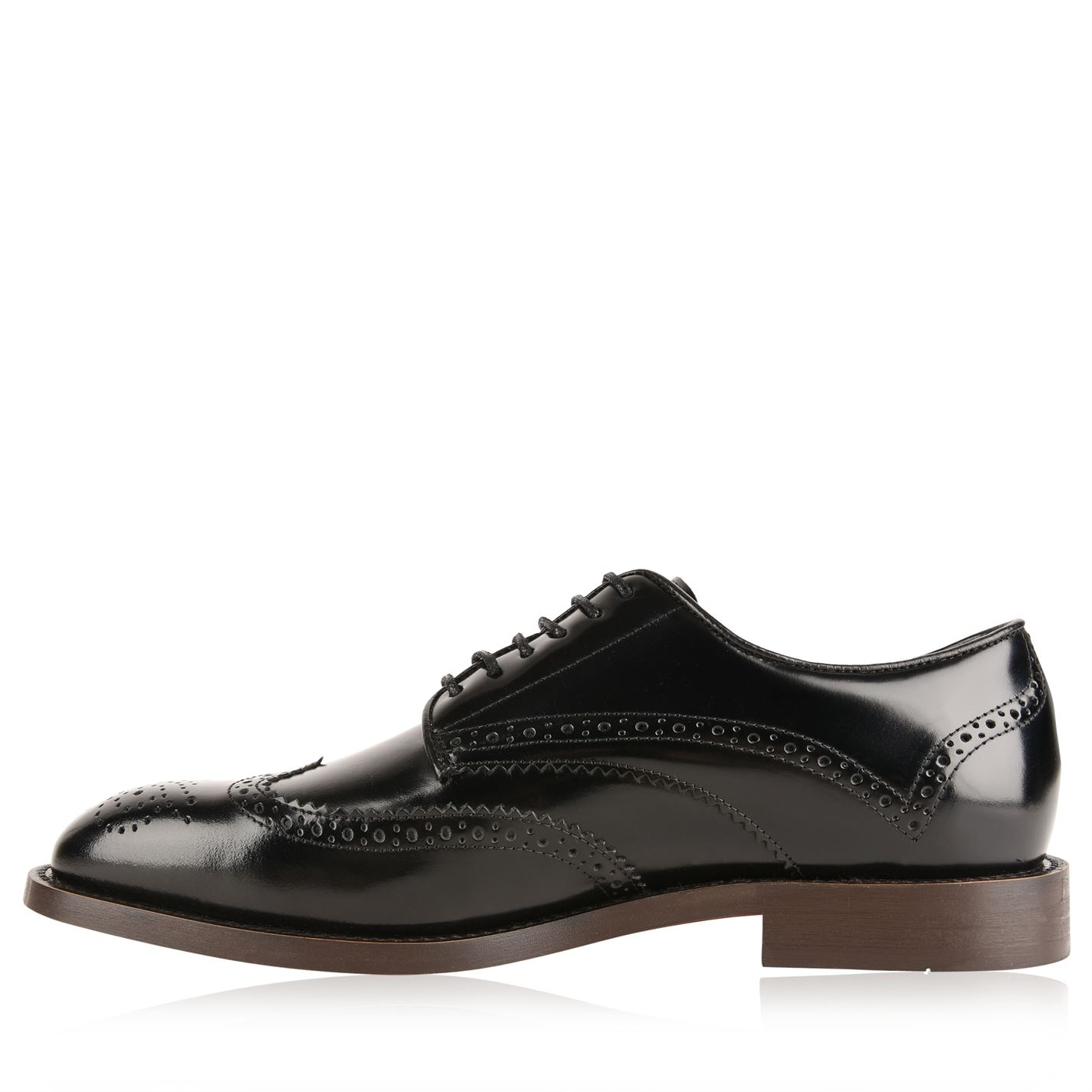H By Hudson Mens Breds Brogues Lace Up Up Up Block Heel Rounded Toe c39a53