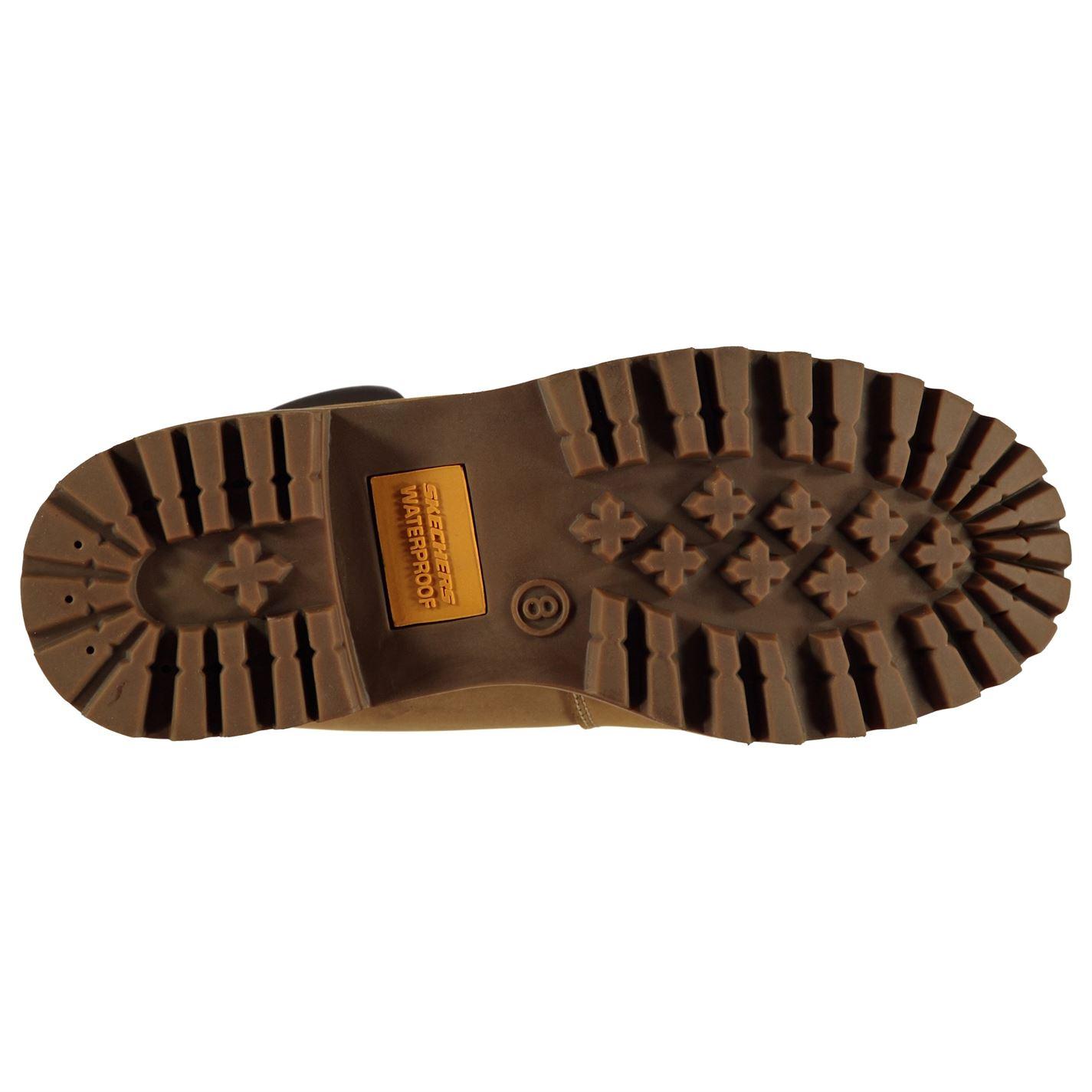 Zapatos Caballeros Veredicto Hombres Sujetados los Cordones Skechers Botas Agua días Usa Todos Desierto n1xO8aq