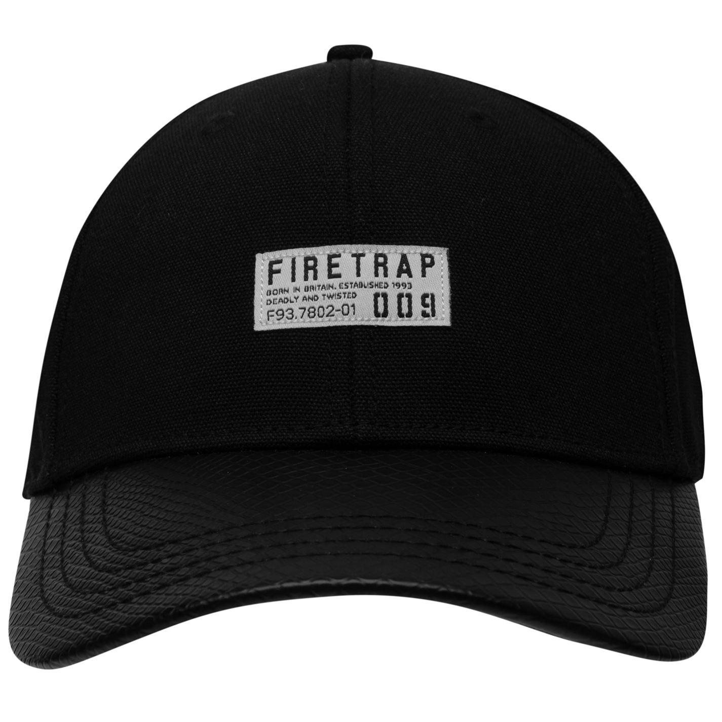 Mens Firetrap Lightweight Stylish Premium Cap Headwear