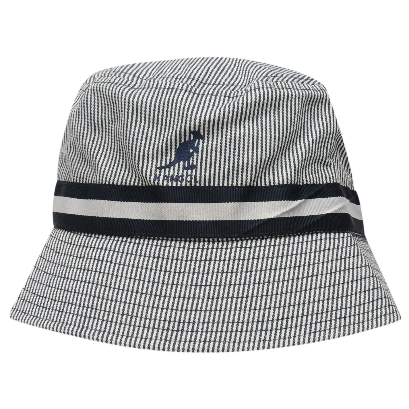581e5a00cf938 Kangol-Stripe-Bucket-Hat-Mens-Gents-Lightweight thumbnail 2