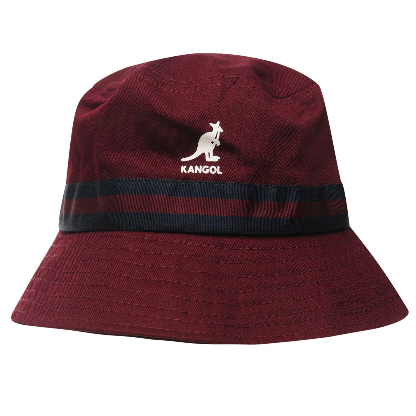 979c8f7d3db07 Kangol-Mens-Stripe-Bucket-Hat-Cotton thumbnail 12
