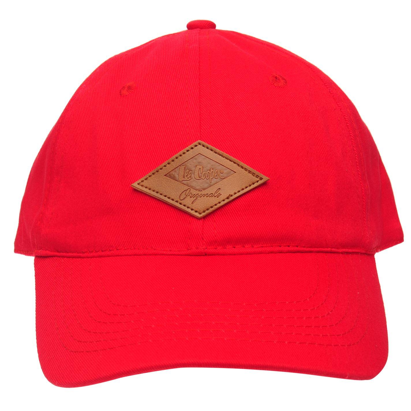 506c681b3 Lee Cooper Originals Cap Mens Gents Baseball Cotton Breathability ...