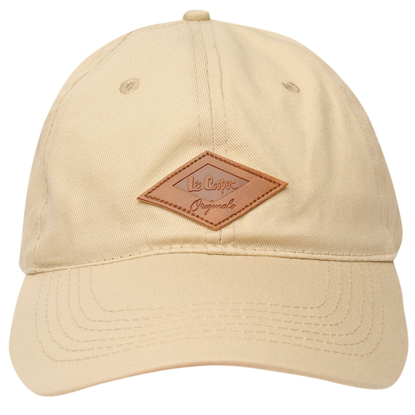 Lee Cooper Mens Originals Cap Baseball Cotton Breathability ... aef84af7687