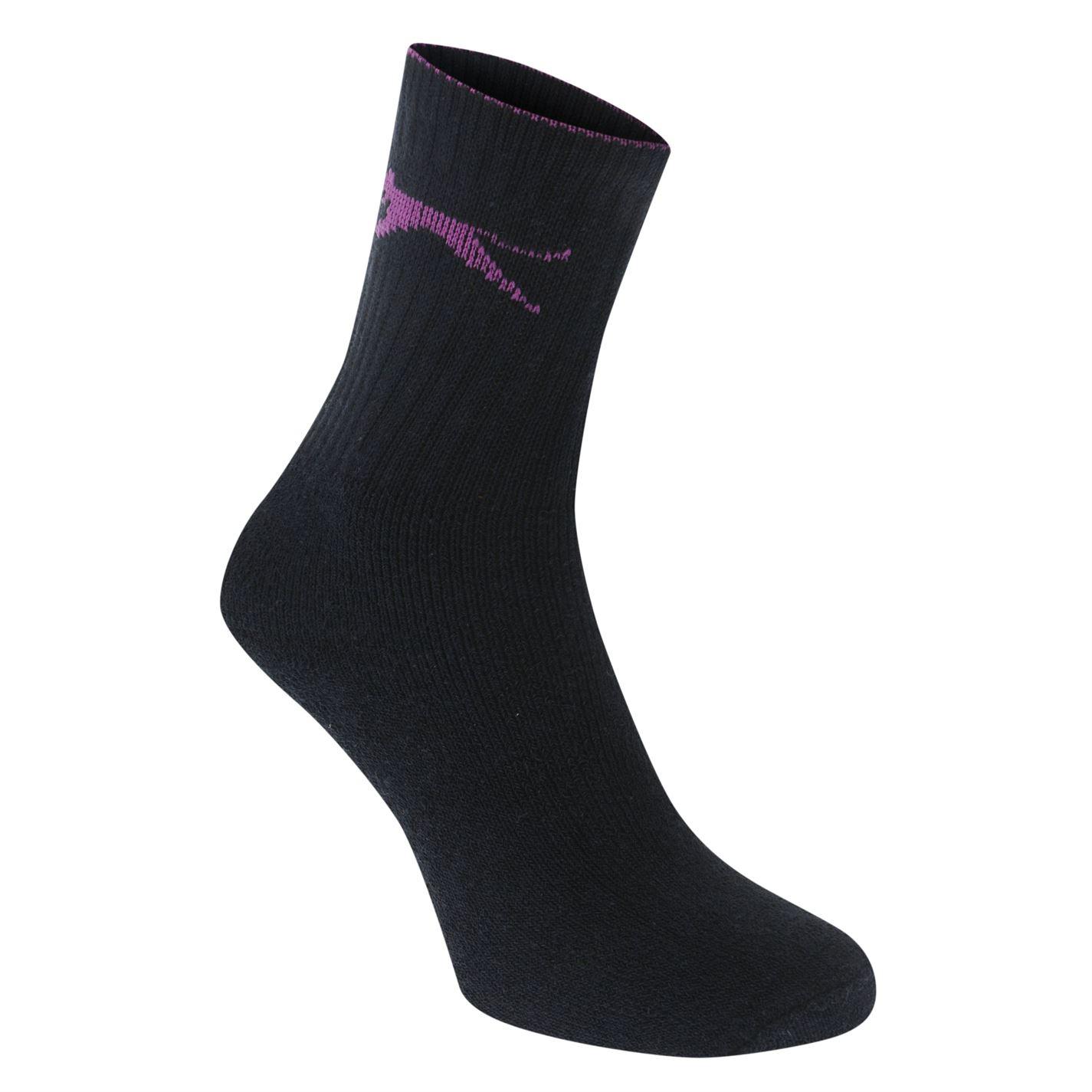 52e847ad9 Slazenger-5-Pack-Crew-Socks-Ladies thumbnail 10