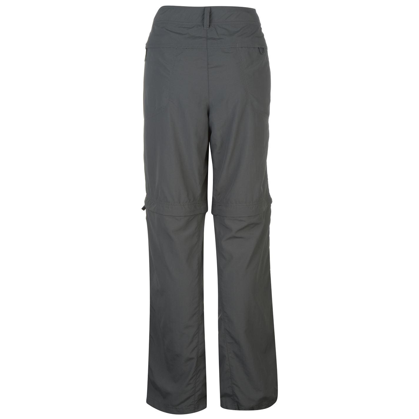 f49fb99b045a2 Columbia Womens Silver Ridge Zip Convertible Pants Walking Trousers ...