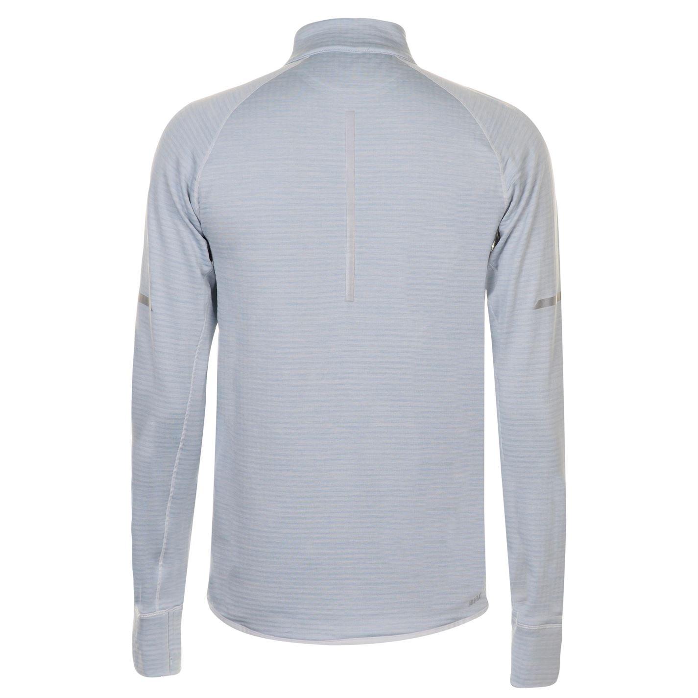 d7710c8ec6de5 New Balance Heat Half Zip Top Mens Gents Full Length Sleeve ...