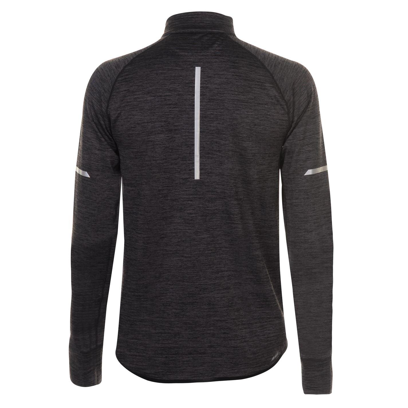 3350eea0ff41d New Balance Mens Heat Half Zip Top Long Sleeve Performance Shirt ...