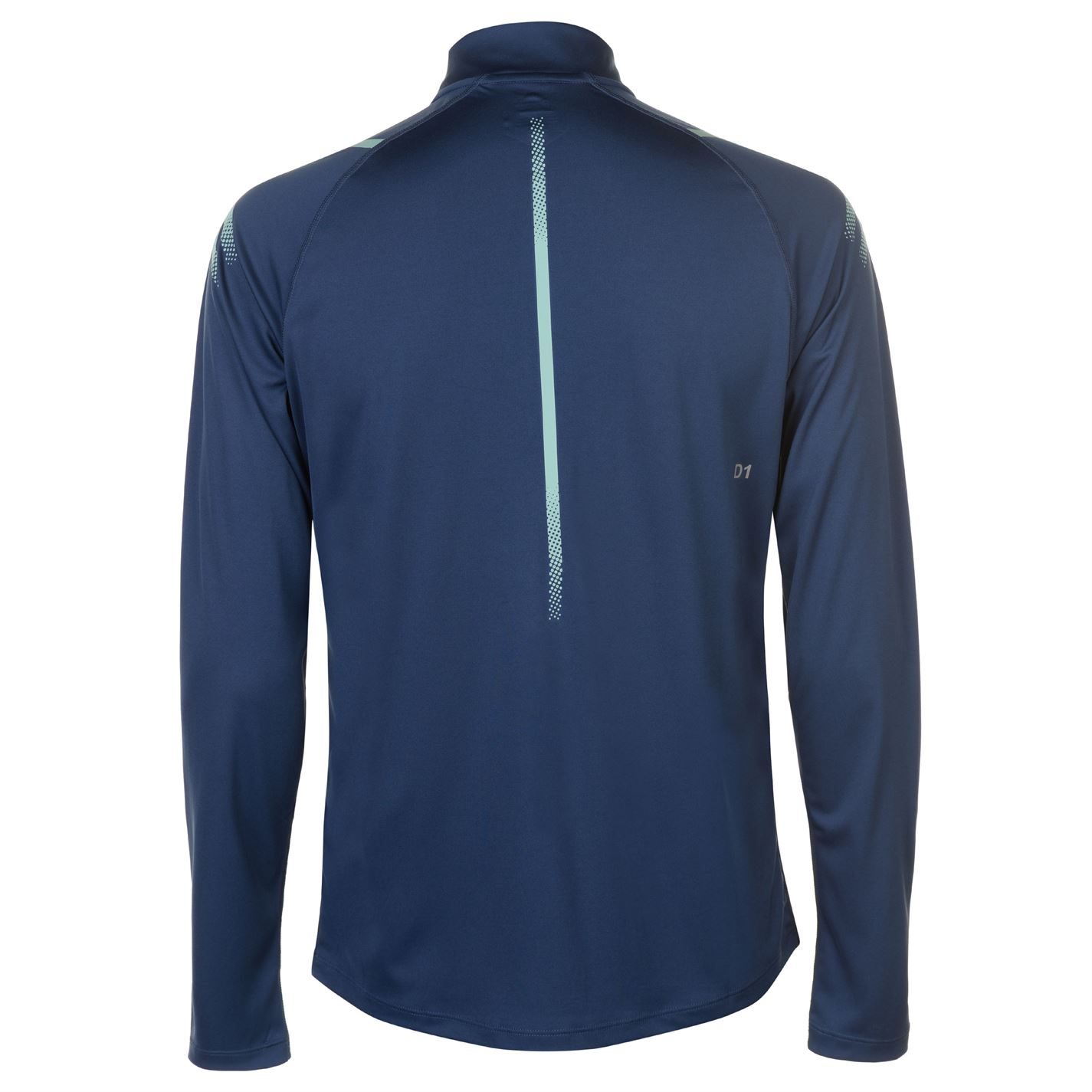 c41346128845 Asics Icon Half Zip Top Long Sleeve Performance Shirt Mens