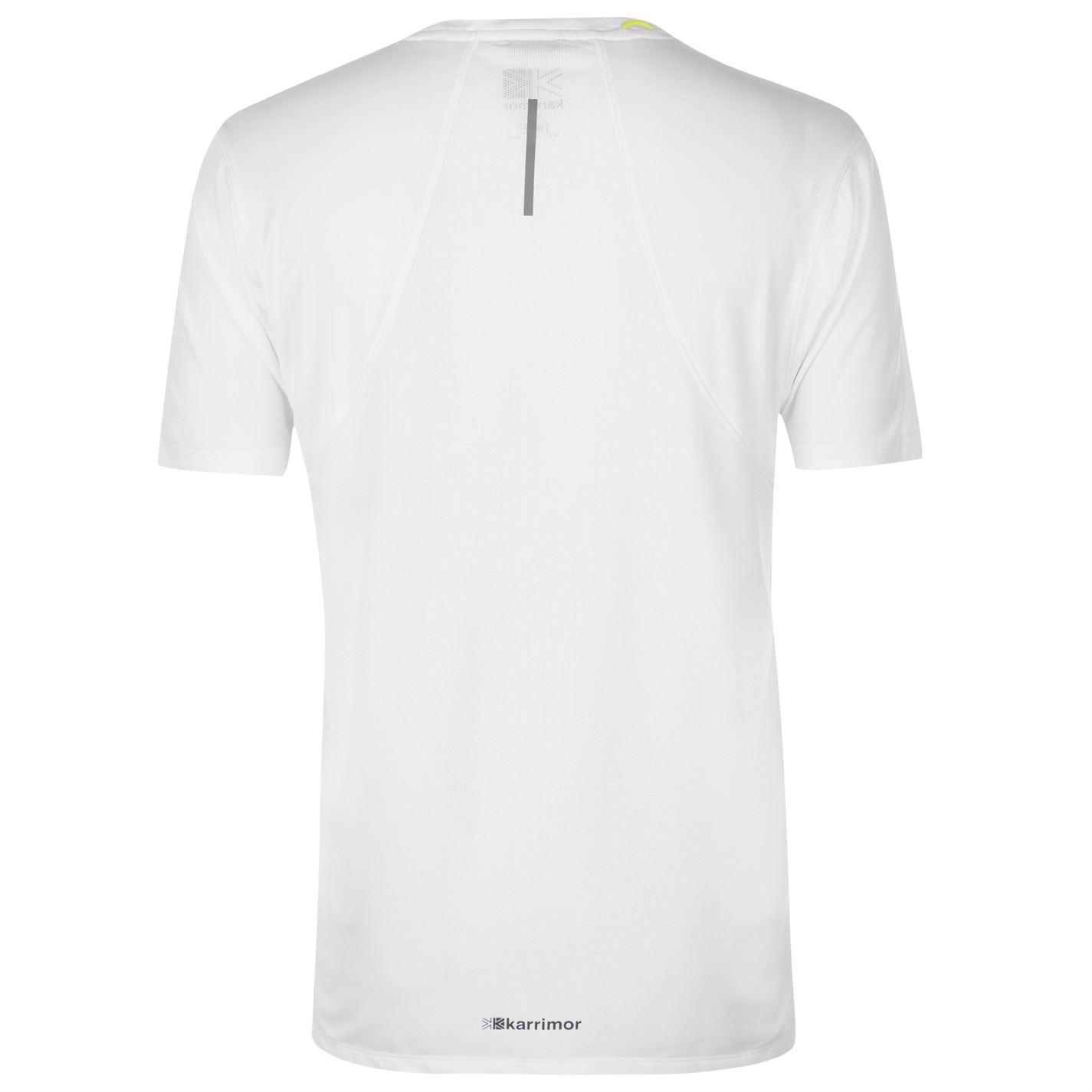 Karrimor-Hombres-X-Lite-Camiseta-mangas-cortas-de-carrera-Rendimiento-Camiseta-Top-Cuello-Redondo miniatura 25
