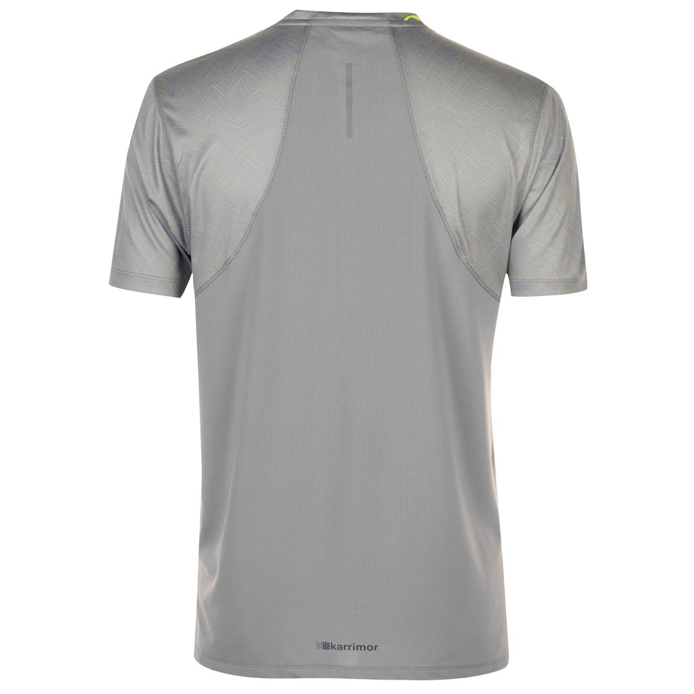 Karrimor-Hombres-X-Lite-Camiseta-mangas-cortas-de-carrera-Rendimiento-Camiseta-Top-Cuello-Redondo miniatura 7