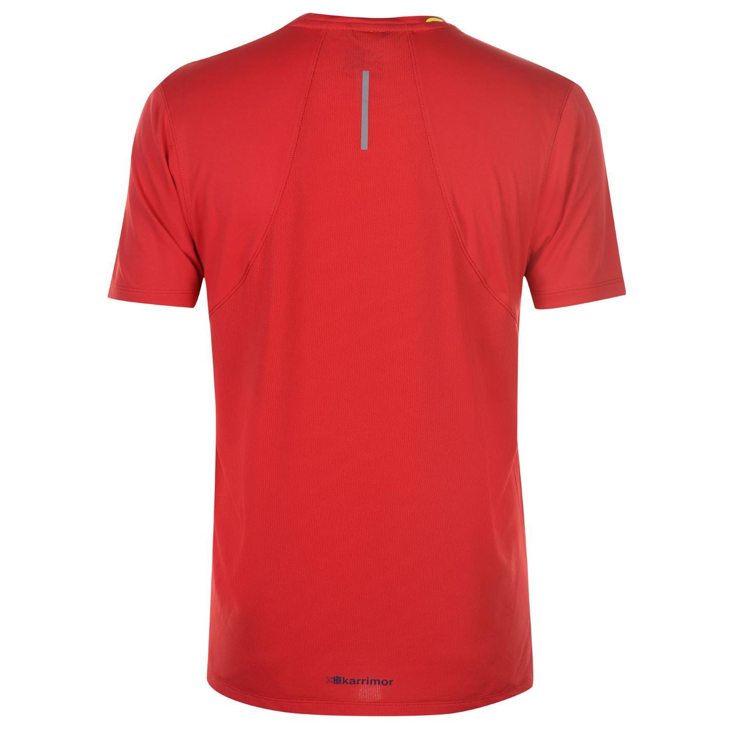 Karrimor-Hombres-X-Lite-Camiseta-mangas-cortas-de-carrera-Rendimiento-Camiseta-Top-Cuello-Redondo miniatura 28