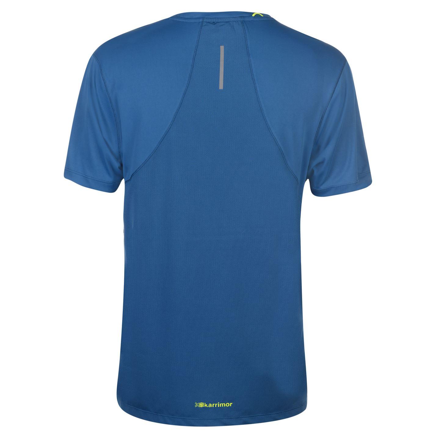 Karrimor-Hombres-X-Lite-Camiseta-mangas-cortas-de-carrera-Rendimiento-Camiseta-Top-Cuello-Redondo miniatura 19