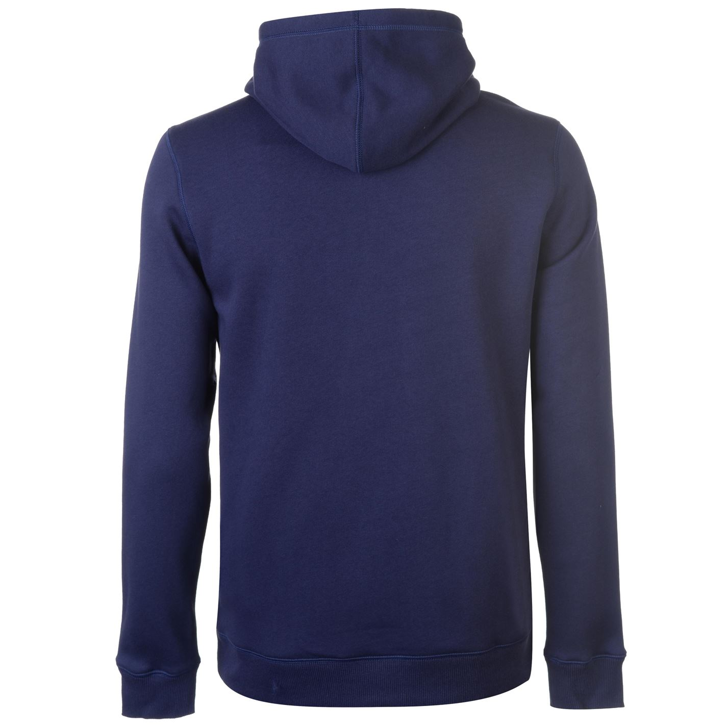 Grey Under Armour Rival Mens Fitted Pull Over Training Hoody