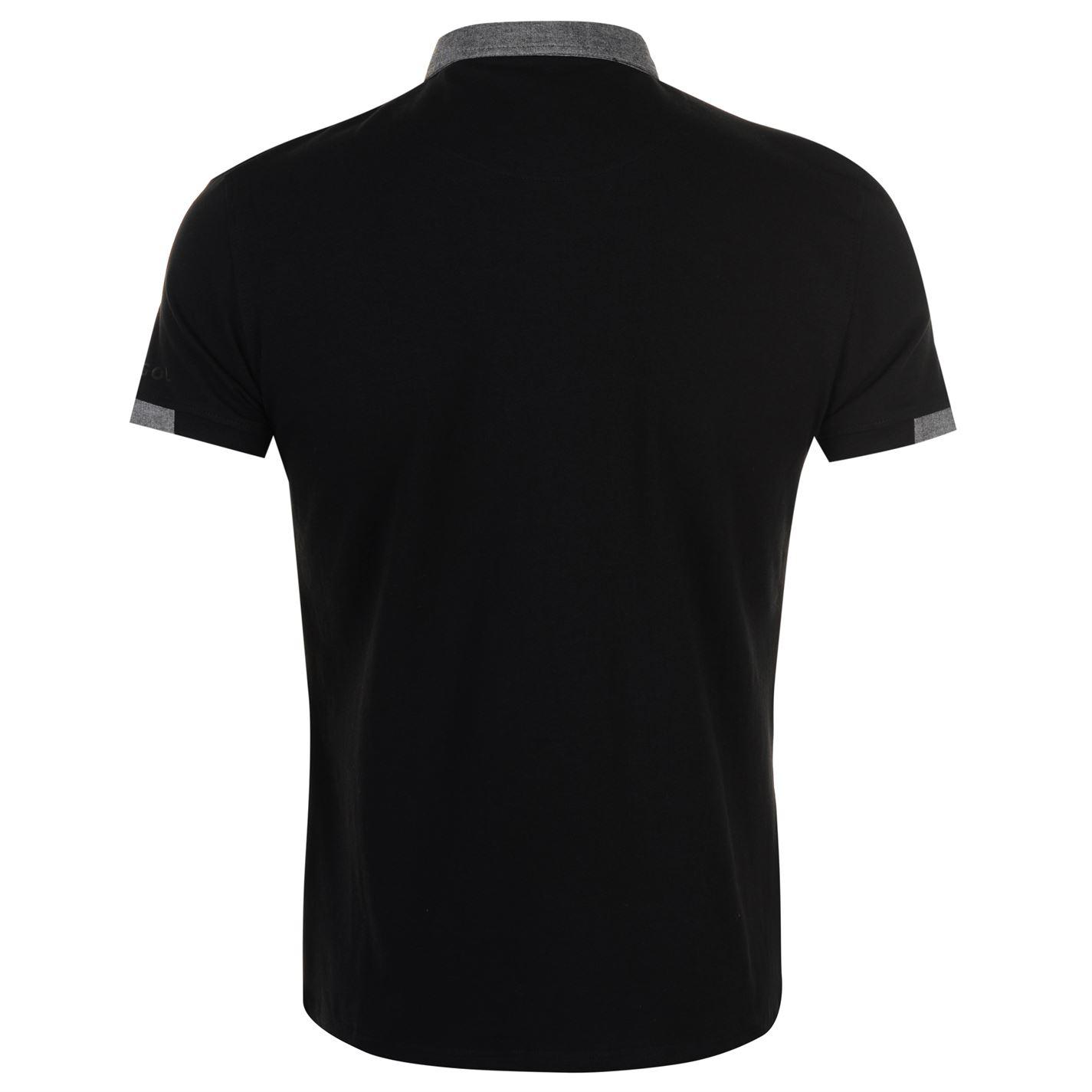 Kangol-Mens-Cham-Short-Sleeve-Polo-Shirt-Classic-Fit-Tee-Top-Lightweight-Colour thumbnail 5