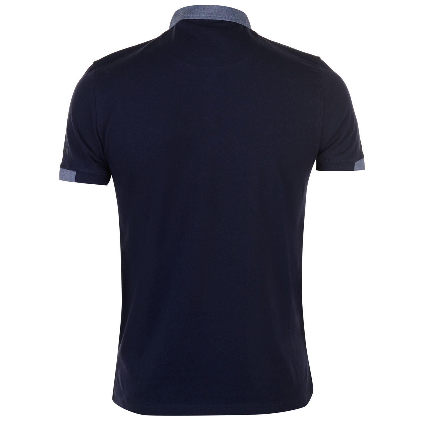Kangol-Mens-Cham-Short-Sleeve-Polo-Shirt-Classic-Fit-Tee-Top-Lightweight-Colour thumbnail 9