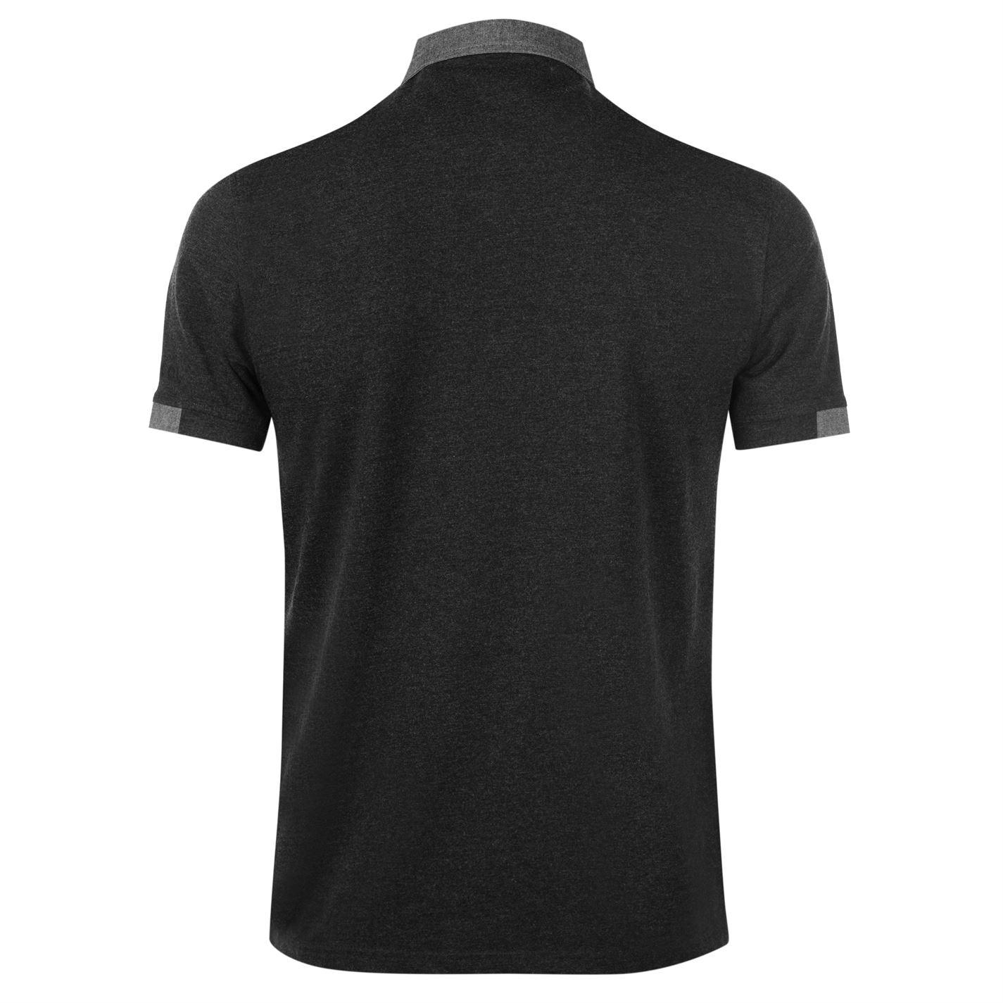 Kangol-Mens-Cham-Short-Sleeve-Polo-Shirt-Classic-Fit-Tee-Top-Lightweight-Colour thumbnail 13