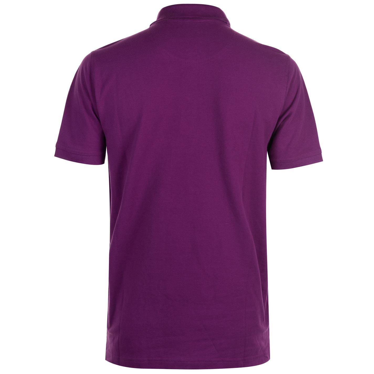 40c9349b Pierre Cardin Mens C Plain Polo T Shirt Short Sleeve Classic Fit Tee ...