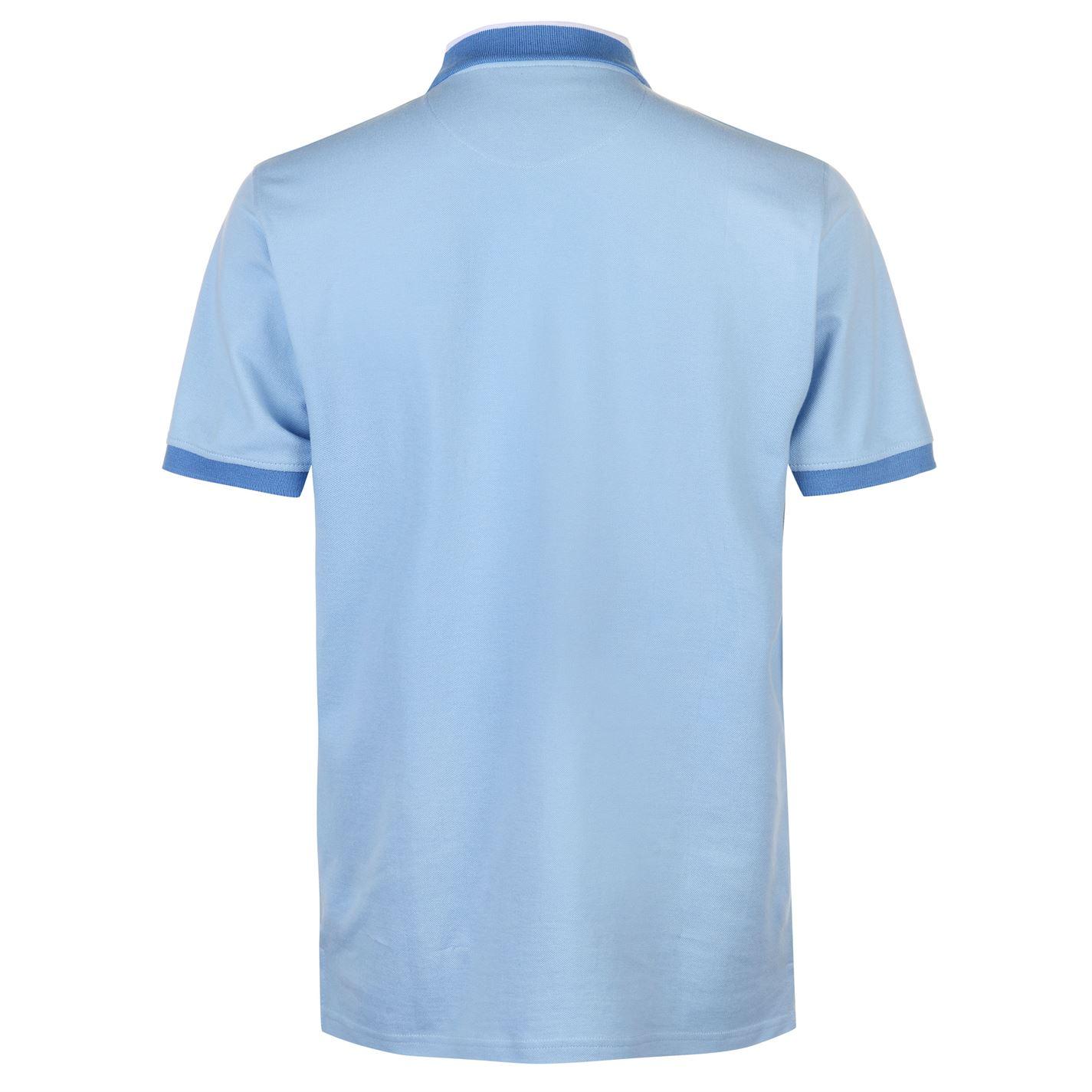 Pierre Cardin Mens Pique Polo Shirt Classic Fit Tee Top Short Sleeve Cotton