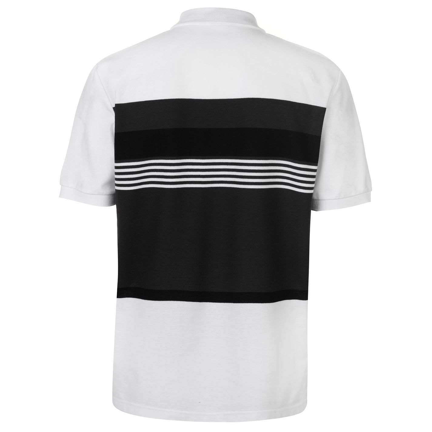 Lonsdale-Mens-Stripe-Polo-Shirt-Classic-Fit-Tee-Top-Short-Sleeve-Button-Placket thumbnail 14